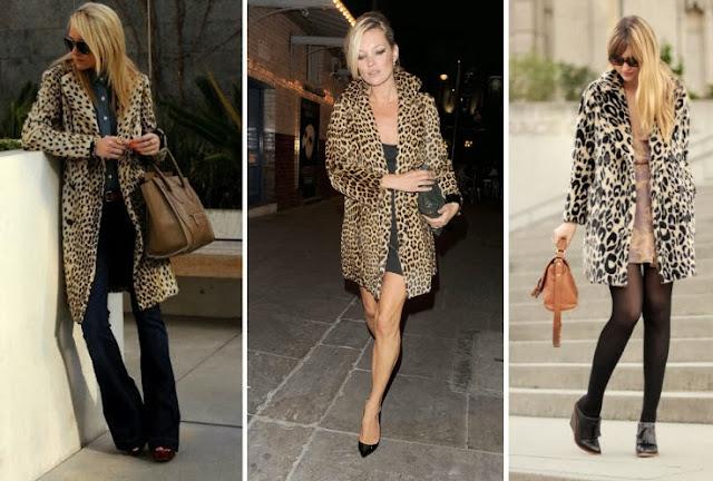 leopard coat, leopard print