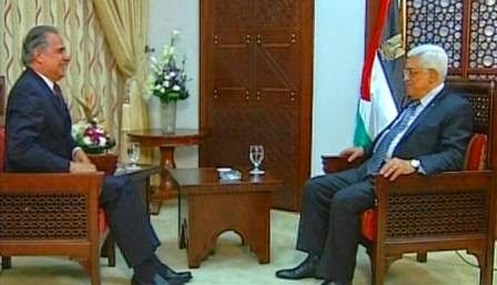 Mahmoud Abbas é entrevistado por Roberto D'Avila