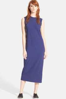 MARC BY MARC JACOBS Sleeveless Cotton Jersey Midi Dress