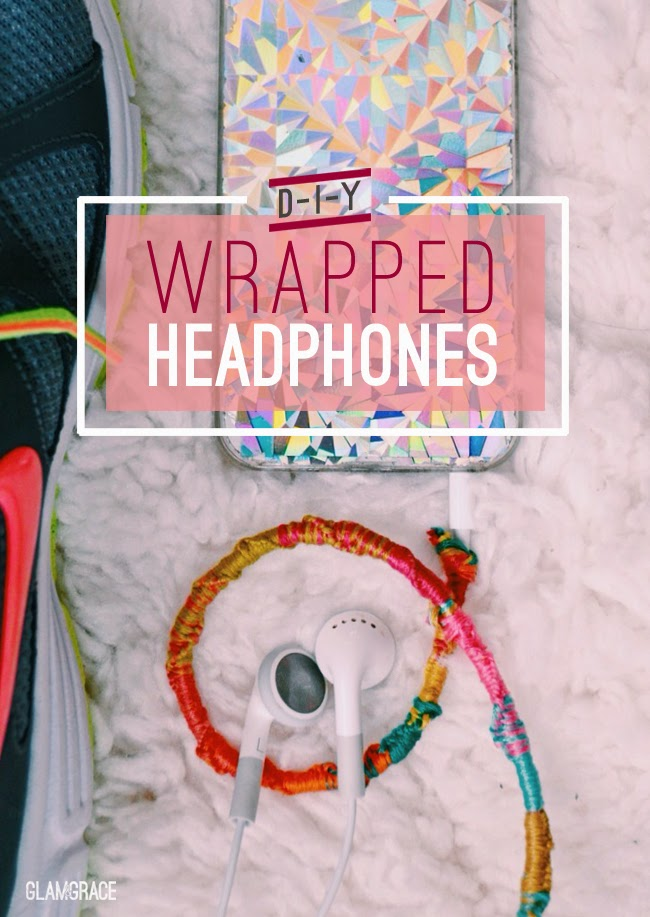 DIY wrapped headphones / earphones