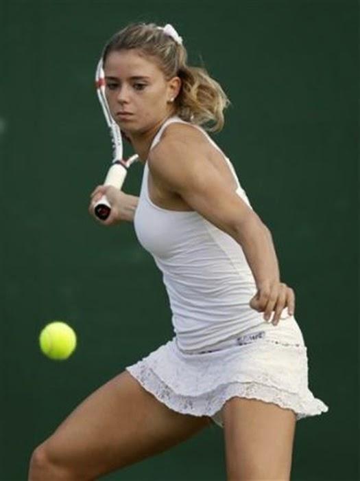 Camila Giorgi tenista profissional italiana