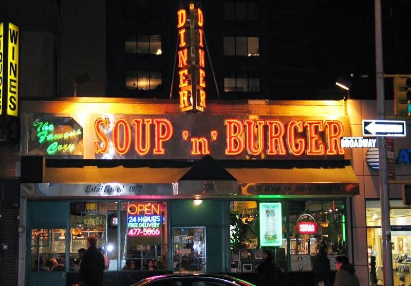 Cozy Soup'n Burger em Nova York