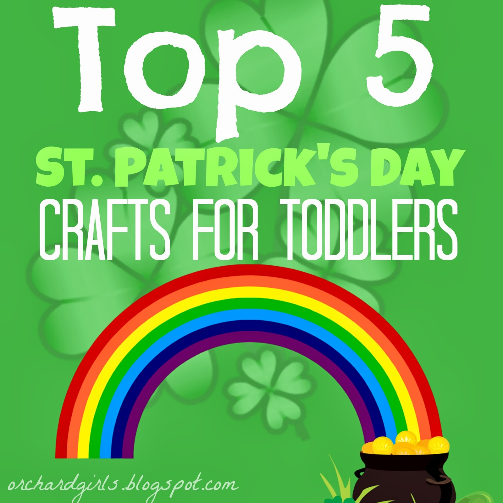 St patricks crafts for preschoolers - I Noticed That A Lot Of You Enjoyed Our Top 5 Valentine S Day Crafts For Toddlers So I Thought I Would Round Up A Few Fun Crafts For St Patrick S Day