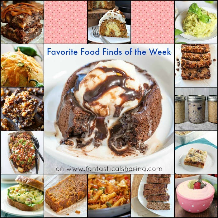 Fantastical Friday: Favorite Food Finds of the Week | I'm sharing 15 recipes from my favorite food blogs #Collection #collage #roundup #favorite #recipe