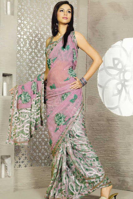 Beautiful-Pink-Saree