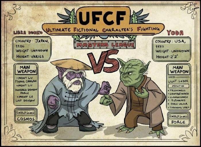 Maestro 5 picchi vs Yoda?