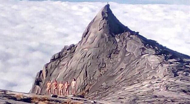 Nudist Tourists Held In Malaysia For Making 'Mountain Spirits Mad,' Sparking Deadly Quake