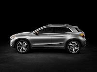 Mercedes-Benz Concept GLA side