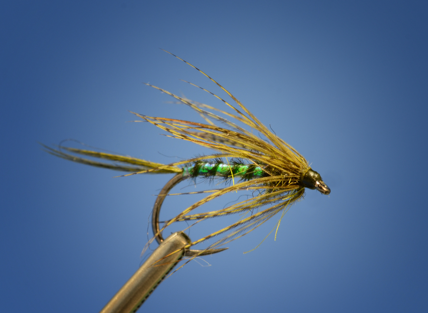 Fly tying with uv an effective drake soft hackle fly for Fly fishing tying