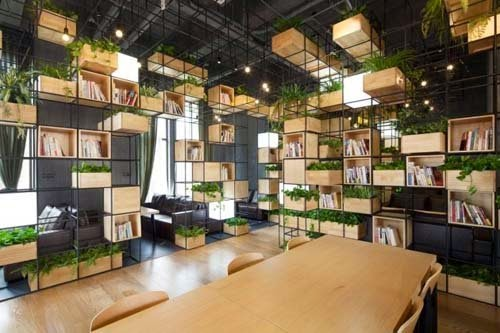 Cafe Design Ideas rocambolesc cafe girona spain Natural Home Cafe Design Ideas By Penda