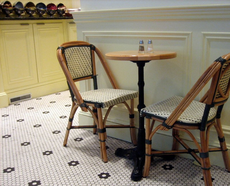 Genial French Rattan Bistro Chair