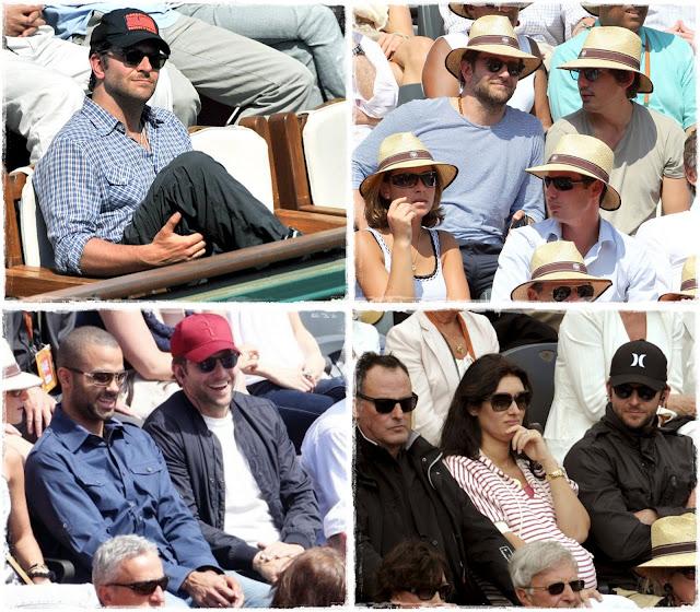 Bradley Cooper - Roland Garros 2011