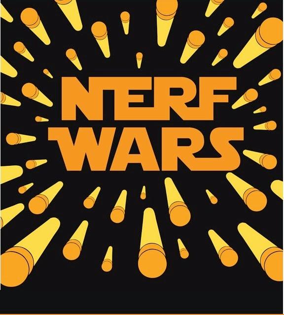 nerf war for pinterest