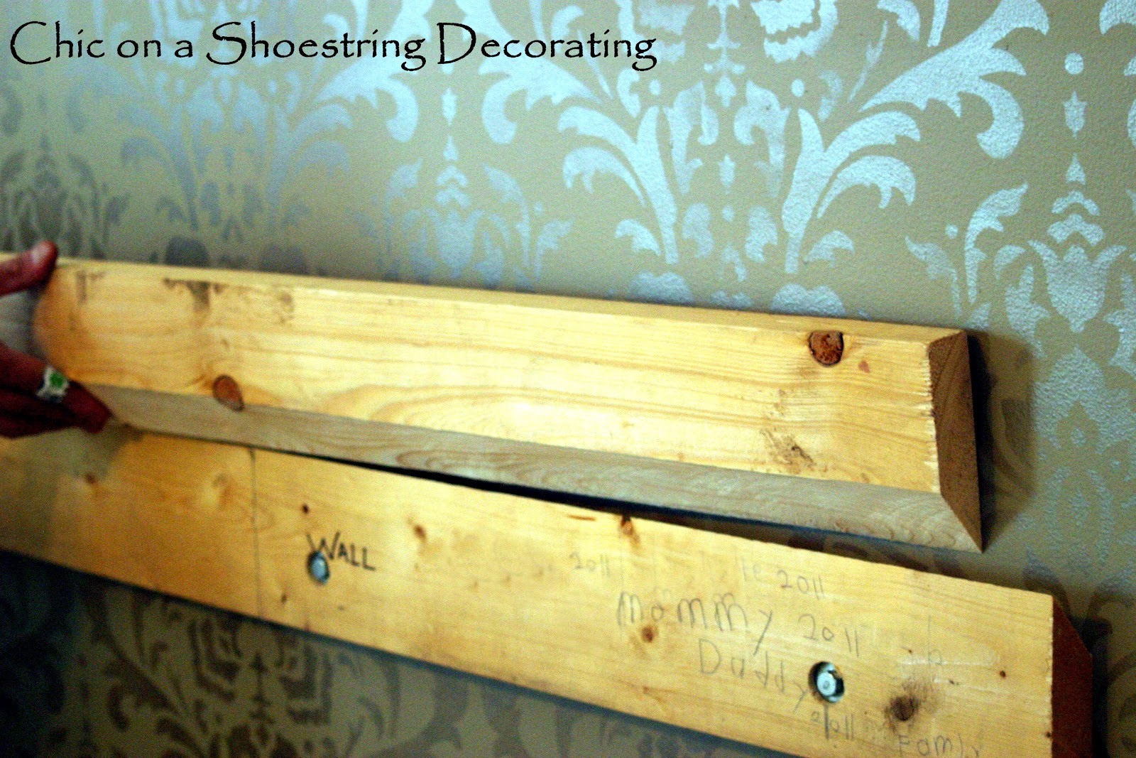 chic on a shoestring decorating how to make an