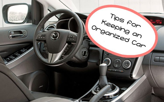 Tips for Keeping an Organized Car — amodernmrs.com