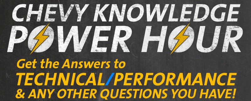 2015 Chevy Knowledge Power Hour Dates at Graff Bay City