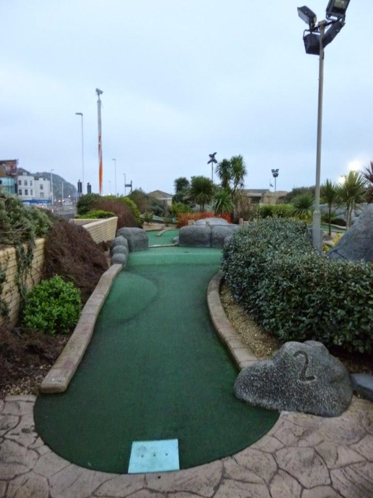 Hastings Adventure Golf course (Nov 2014)