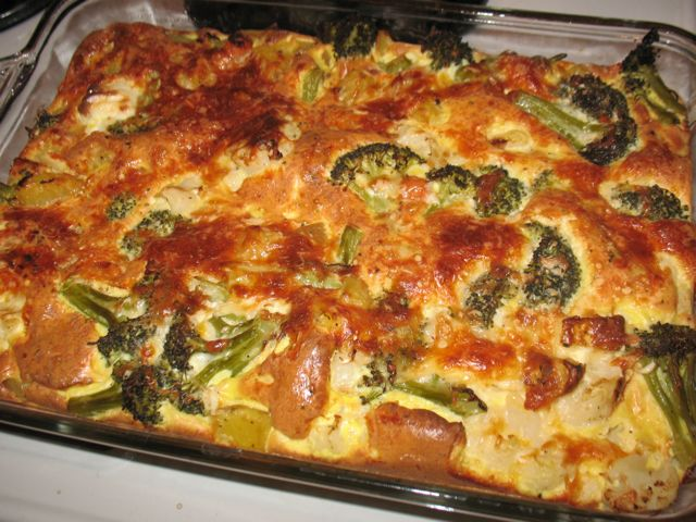 ... Will Eat (or sometimes not): Dinner-Time Egg and Vegetable Casserole