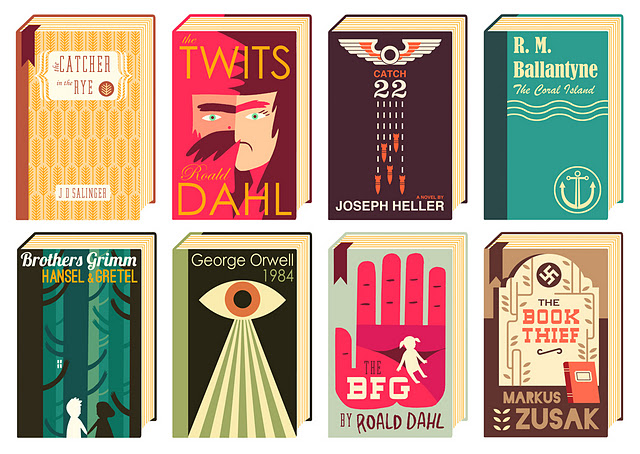 Beautifully Illustrated Book Covers : And now with books beautifully illustrated book covers
