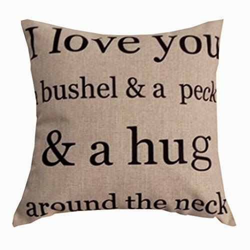 I Love You Hug Valentine's day Pillowcase