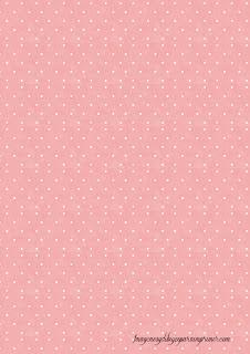 Folios de color rosa Folios con topos para imprimir