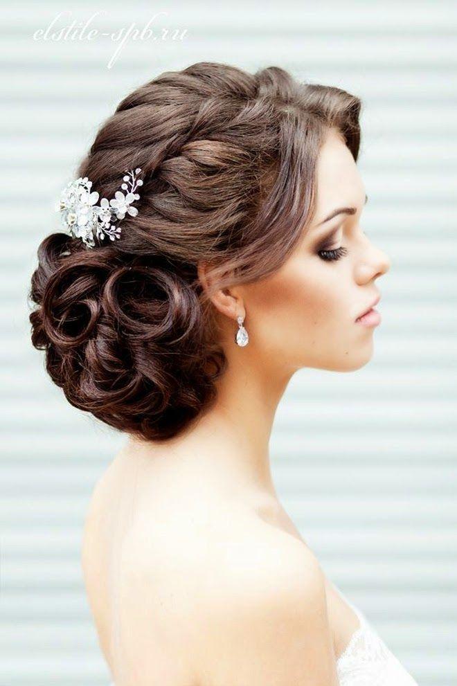 Peinados de novia con flequillo 2018 luce perfecta el día de tu boda - peinados con flequillo para boda