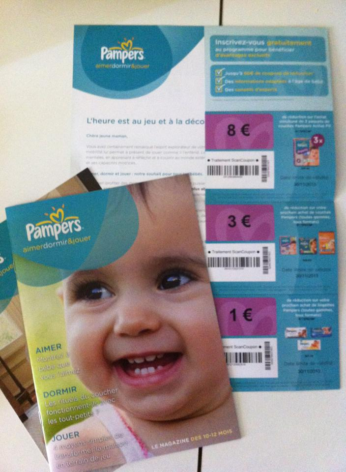 Voici une exemple de courrier re u il y a quelques jours - Reduction couches pampers a imprimer ...