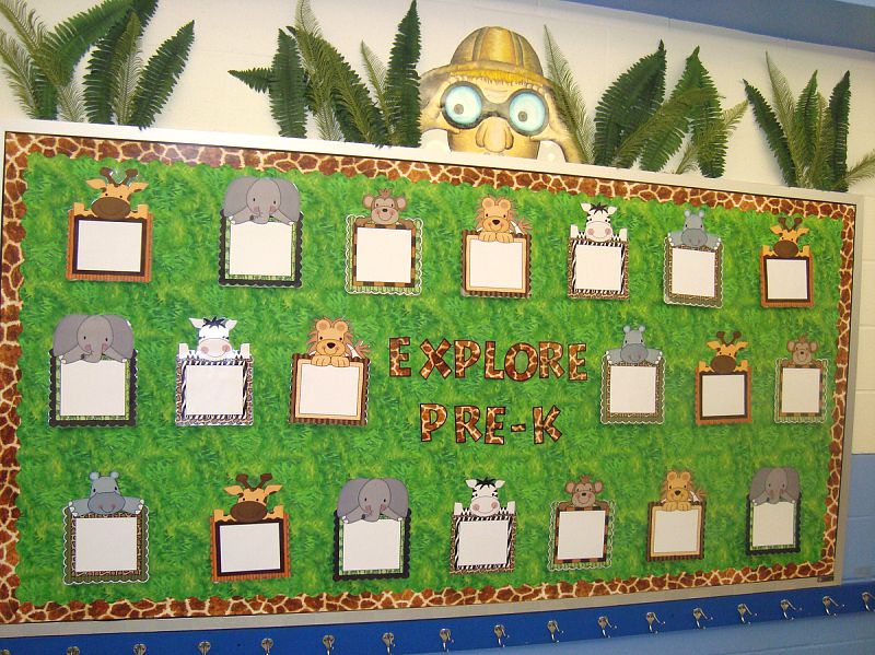 Forest Themed Classroom Decorations ~ Jungle safari themed classroom ideas printable