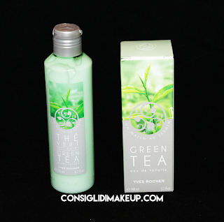Review: Profumo & Latte Corpo linea Green Tea - Yves Rocher