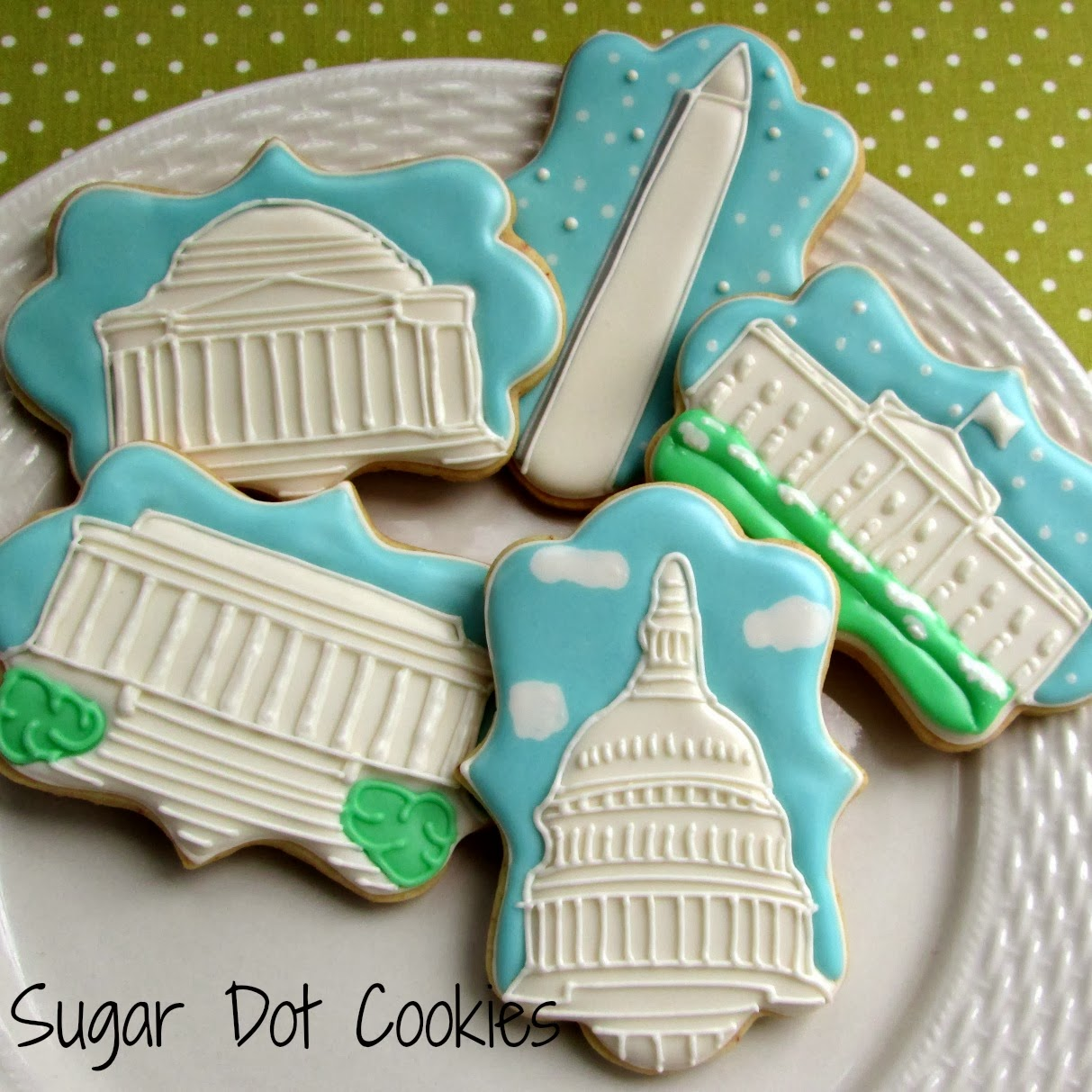 Sugar Dot Cookies: Washington, DC Wedding Cookies