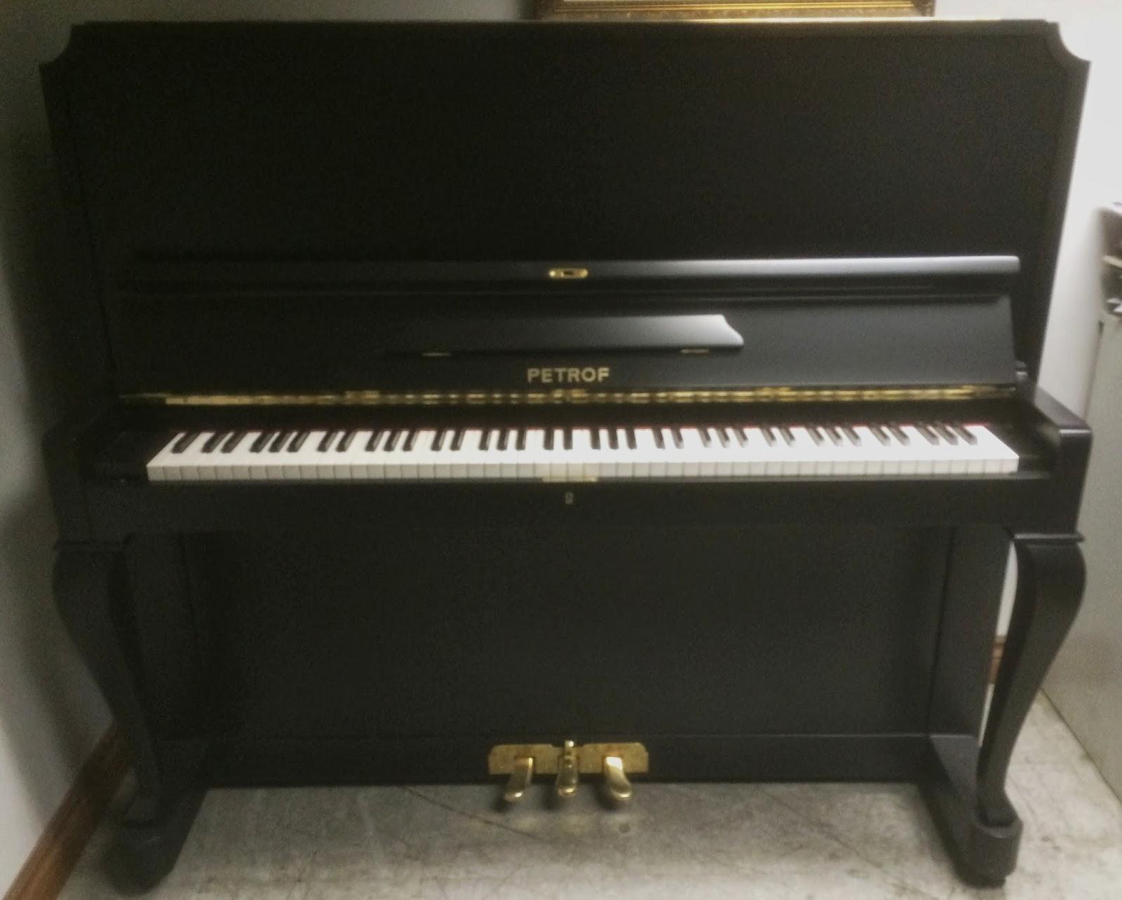 Used Piano Sale In Toronto Area Petrof Upright Piano 54