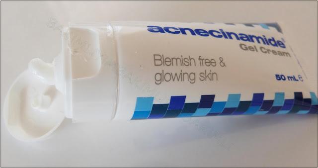 acnecinamide gel cream review