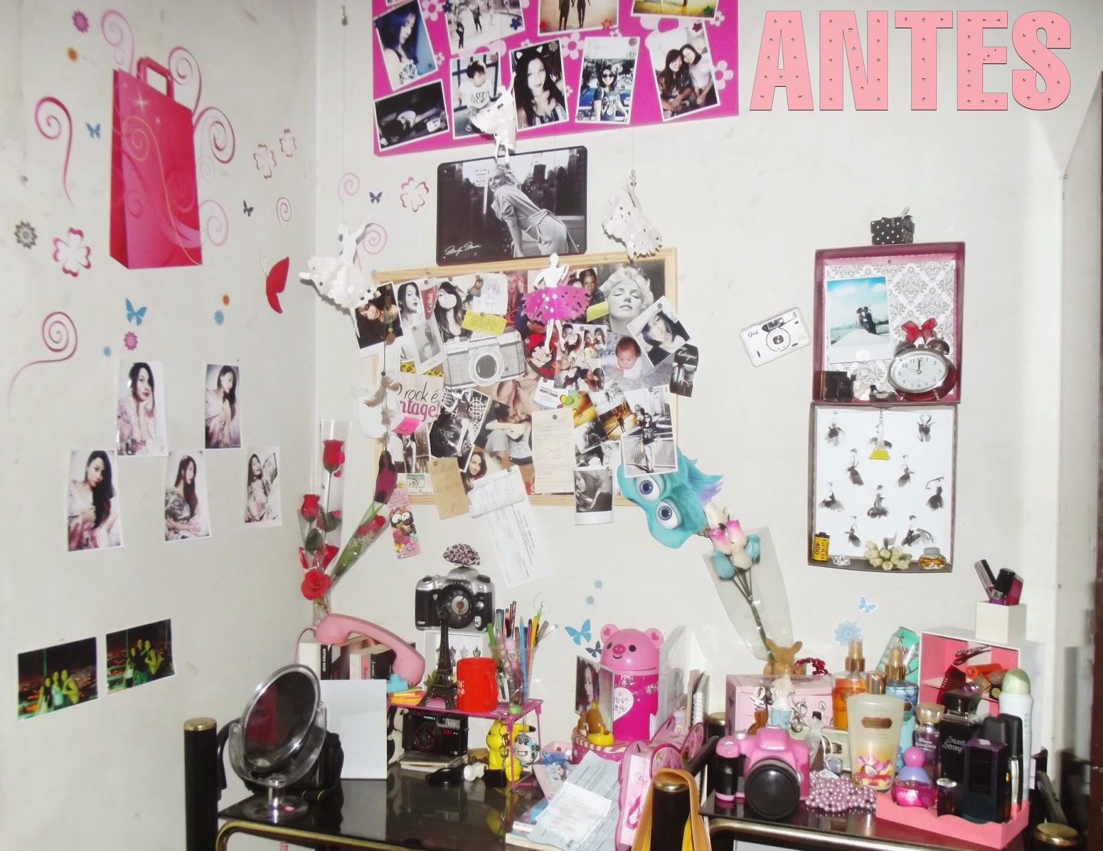 Mayumi com Y: Redecorando a escrivaninha #A92230 1600x1234