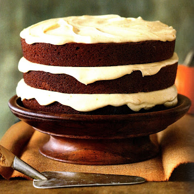 Lily Lemontree: AT THE TABLE: Pumpkin Spice Cake