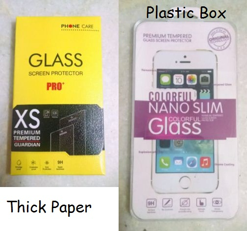 Thick-Paper-Box-AND-Plastic-Box-For-Mobile-Tempered-Glass