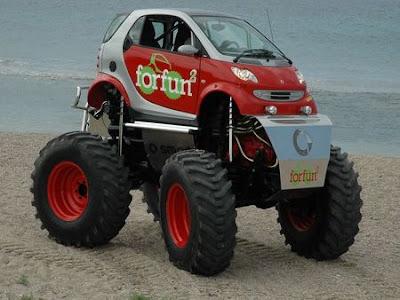 Permainan Mobil Monster