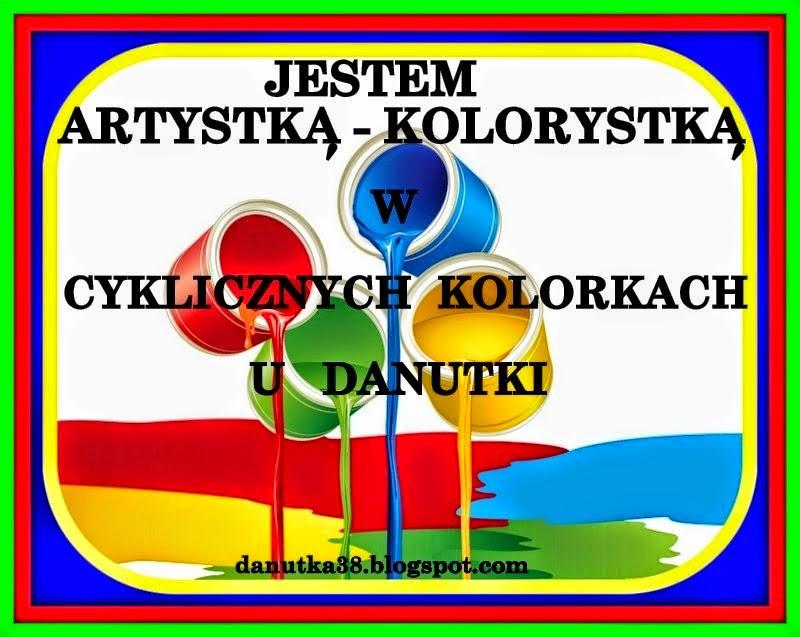 Artystka-Kolorystka u Danusi