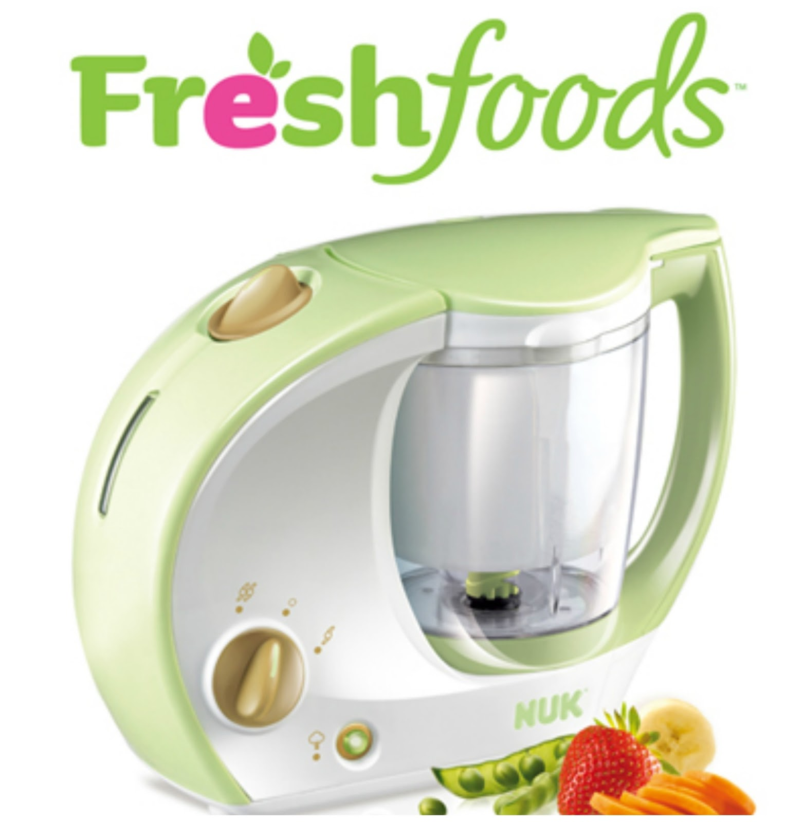 Nuk Freshfoods Cook-n-Blend Baby Food Maker Review - Opera Singer in ...