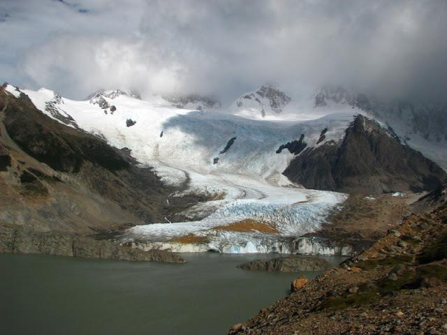 laguna torre glacier torre el chalten