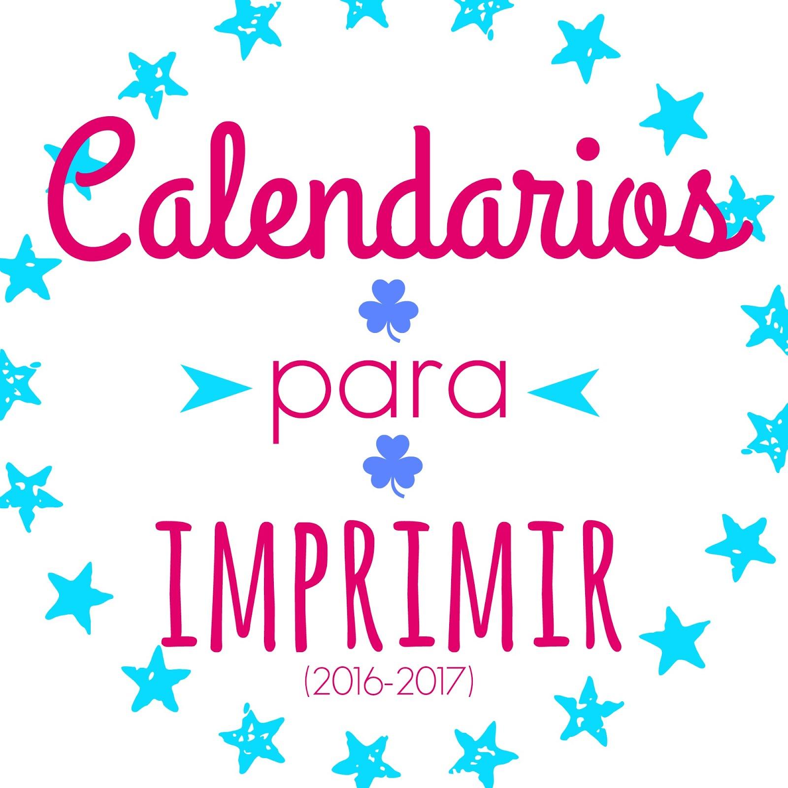 ¡Imprime tu Planning Mensual!