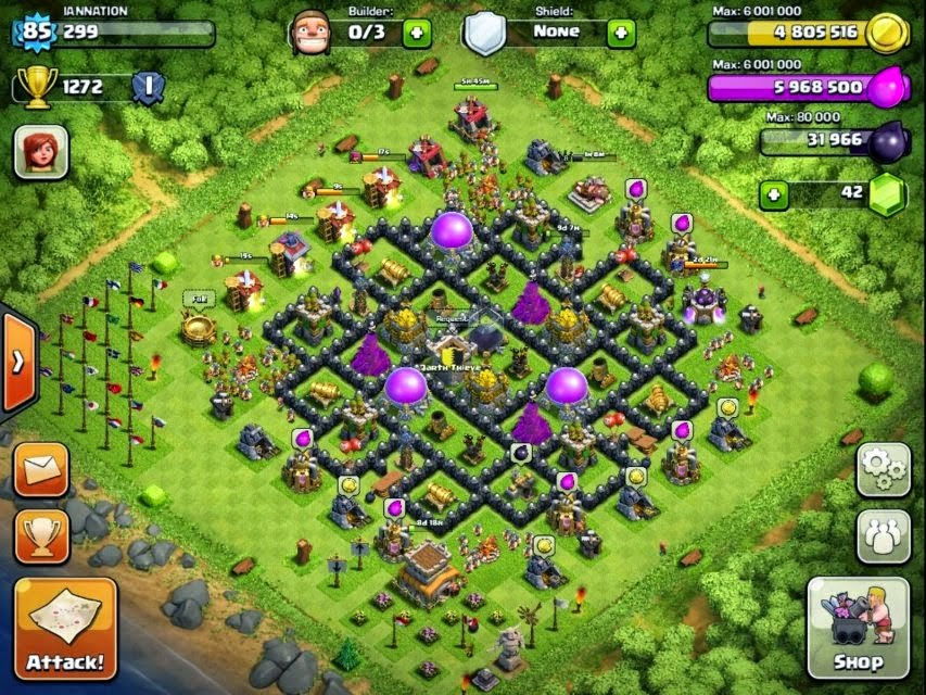 farming base th 8