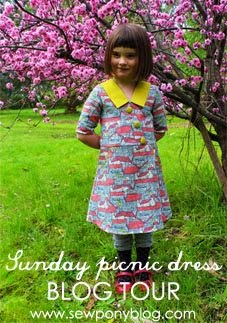 Blogtour Sunday Picnic Dress