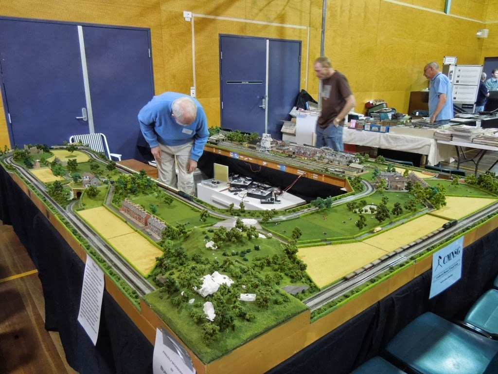 Model railway exhibitions may 2014