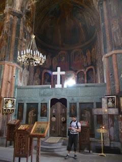 Interior del Monasterio de Zarzma