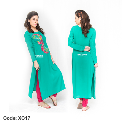 Winter Kurtis Dress Collection 2015 by Pinkstich