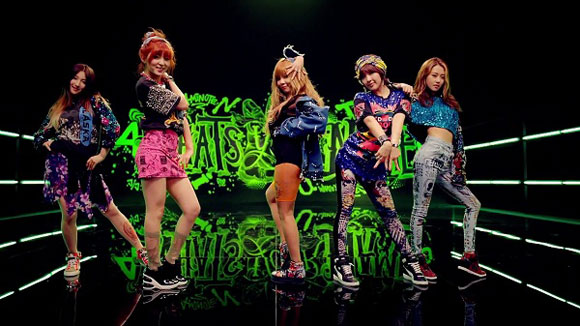 4Minute gây bão làng nhạc Hàn với What's your name, whats your name 4minute, 4minute, mv moi cua 4minute