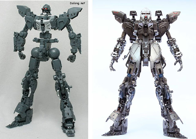 Sinanju Stein Super Details Inner Frame Model Kit