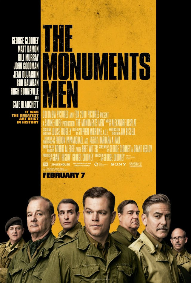 La película The Monuments Men ( Monuments men )