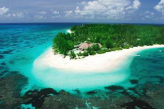 Denis Island in Seychelles