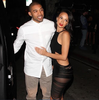 draya michele and orlando scandrick are engaged ooooooo